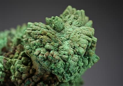 Conichalcite pseudomorph after Calcite