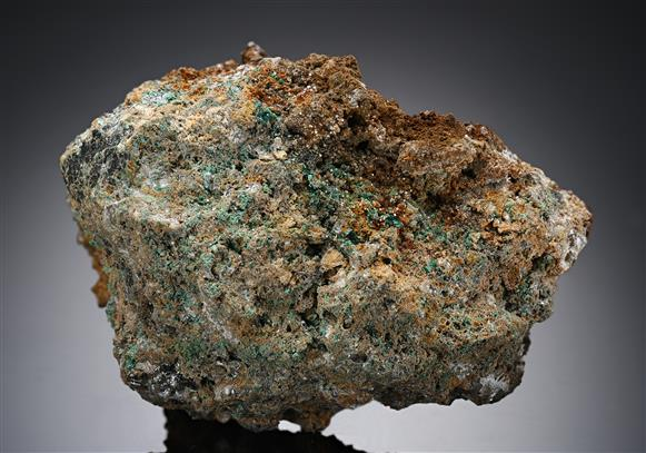 Marshite with Cerussite and Malachite