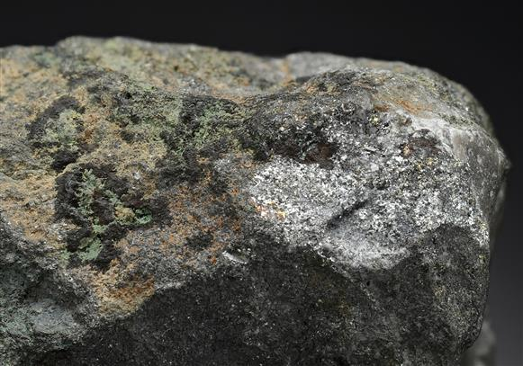 Rickardite with Vulcanite and Native Tellurium