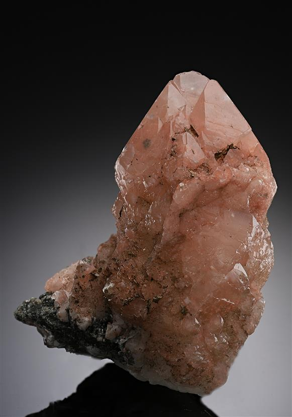 Calcite with Native Copper inclusions