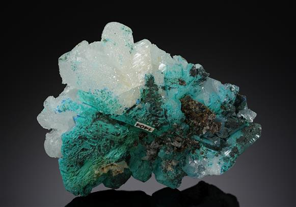 Cerussite with Linarite