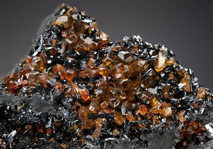 Siderite with Goethite on Germanite