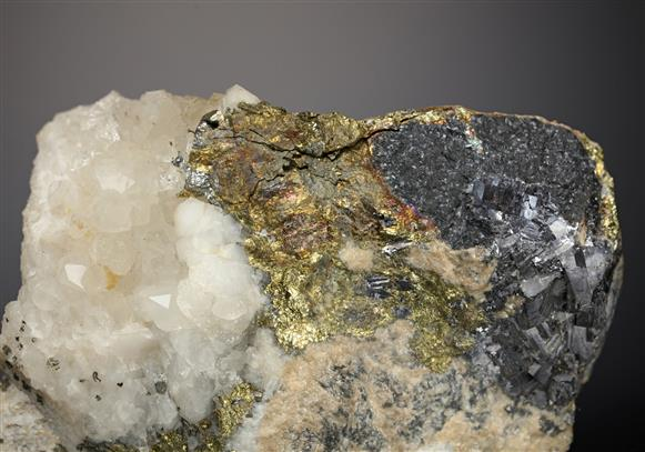 Chalcopyrite with Galena