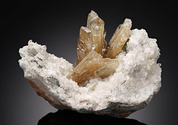 Baryte with Calcite