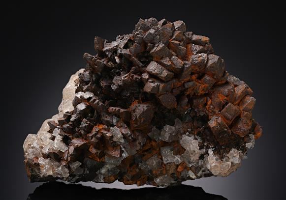 Goethite ps. after Marcasite
