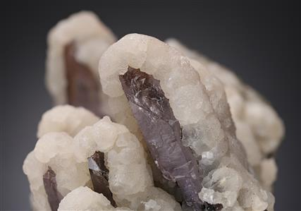 Quartz var. Amethyst with Dolomite