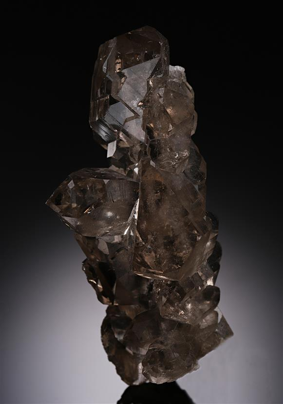 Quartz var. Smoky Quartz Faden