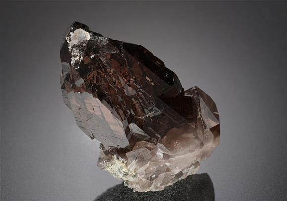 Quartz var. Smoky Quartz Gwindel