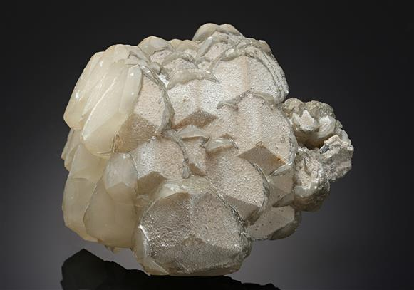 Calcite with Natrolite