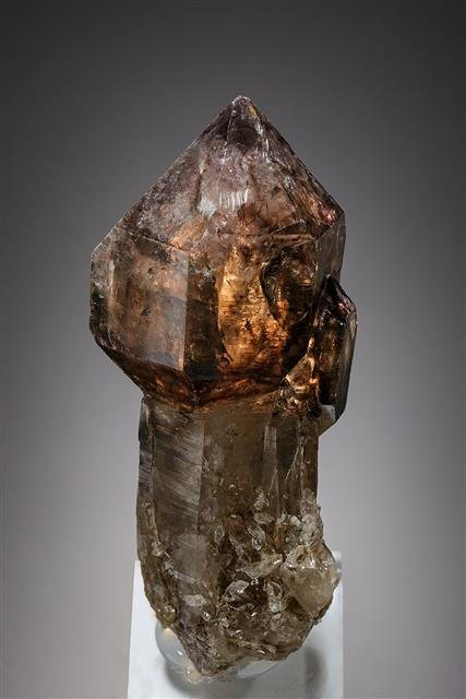 Quartz var. Smoky Sceptre Quartz