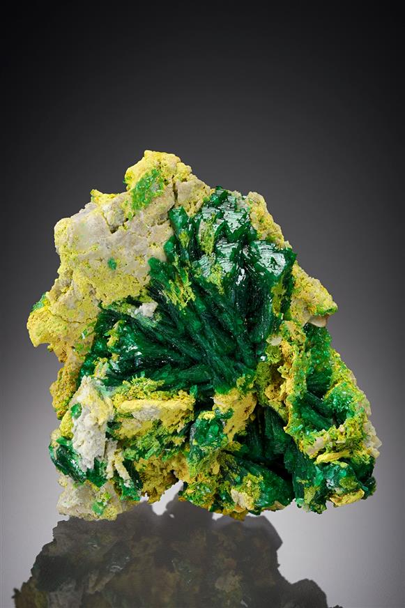 Zincolivenite with Ferrilotharmeyerite