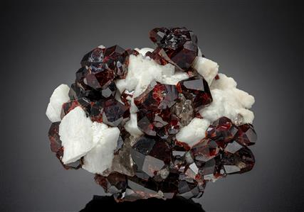 Spessartine with K Feldspar and Quartz