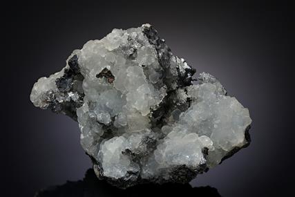 Smithsonite on Coronadite