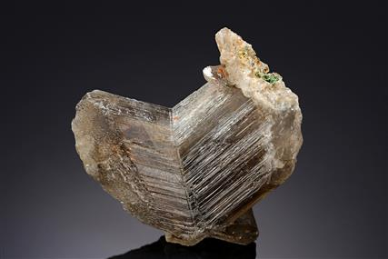 Cerussite with Malachite and Goethite