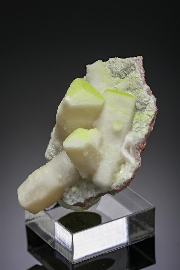 Duftite in Calcite
