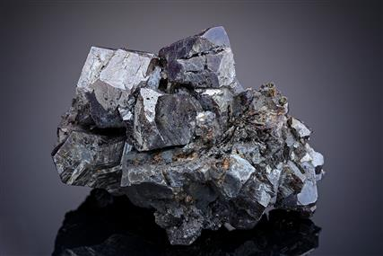 Pyrargyrite and Stephanite with Argentopyrite