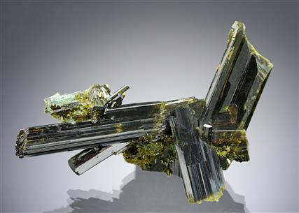 Epidote with Actinolite