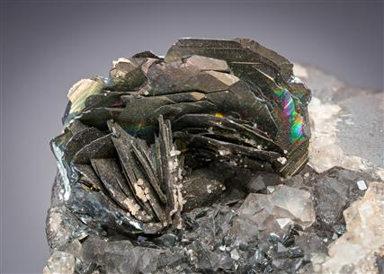 Hematite with Var. Specularite and Quartz