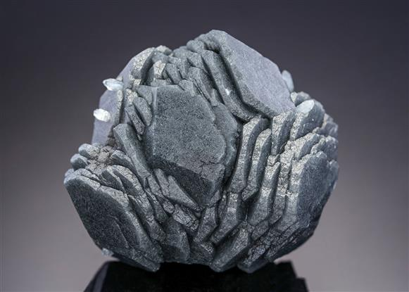 Calcite with included Boulangerite