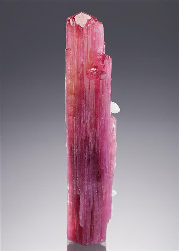 Elbaite (Tourmaline – double terminated) with Quartz