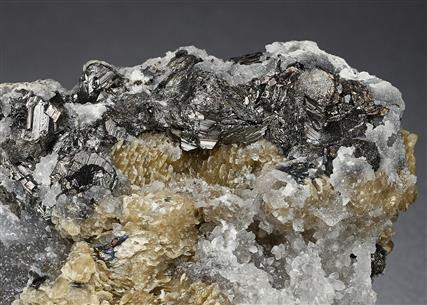 Freieslebenite, Siderite and Quartz