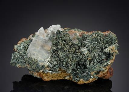 Köttigite with Gypsum
