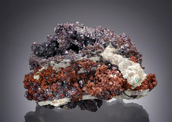 Cuprite with Native Copper