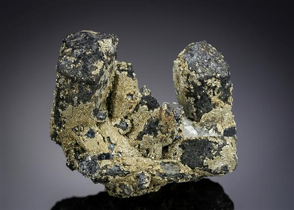 Ilvaite with Pyrite